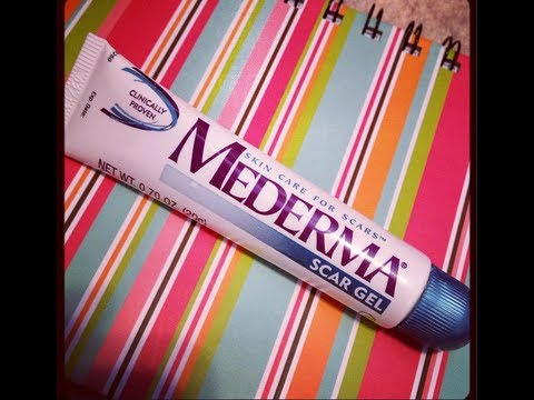 Review Mederma Scar Gel Youtube