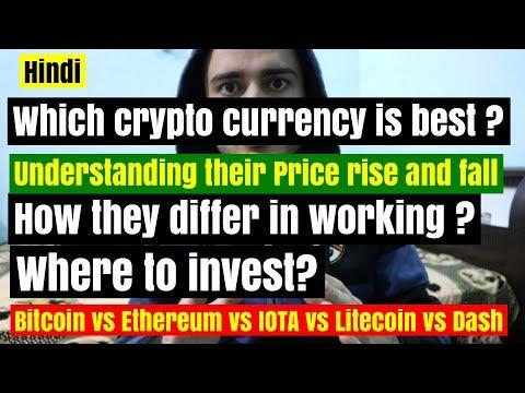 Bitcoin vs Ethereum vs Litecoin vs IOTA vs Ripple vs Dash - where to invest ! whats the difference