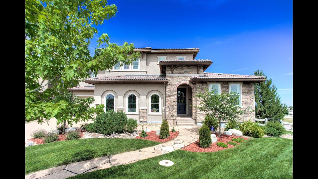 10491 Sunshower Pl, Highlands Ranch, Colorado, Luxury Home for Sale  YouTube # Sunshower Home_164258
