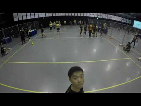 Singapore International ANZAC Dodgeball 2017 All Female Quarter final Earthshakers vs She Unit