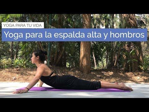 Yoga para la espalda alta y hombros