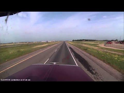 Close Call on Saskatoon Highway 16    ViralHog