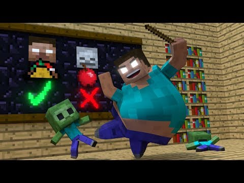Thumbnail: Zombie life - Minecraft Top 5 Life Animations
