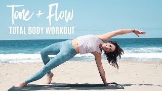The Best 8-Minute Total Body Workout | Tone + Flow With Karena
