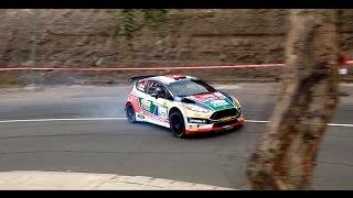 Tramo Espectáculo Rally Islas Canarias 2017.