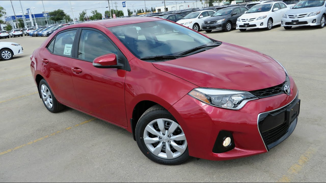 2014 toyota corolla s start up walkaround and vehicle. Black Bedroom Furniture Sets. Home Design Ideas