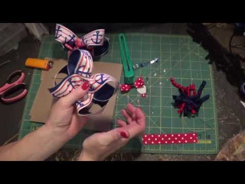 How to make a korker center boutique hair bow