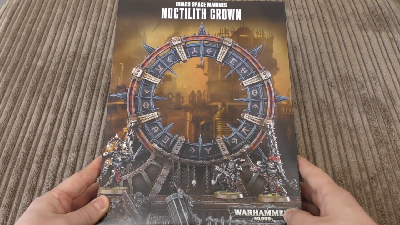 CHAOS SPACE MARINES NOCTILITH CROWN