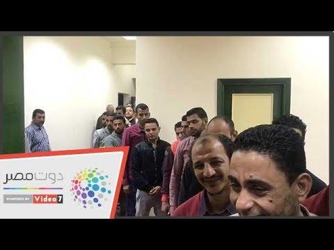 شاهد..طوابير الشباب بلجان الاستفتاء فى مدينة الإنتاج الإعلامى  - 21:55-2019 / 4 / 22