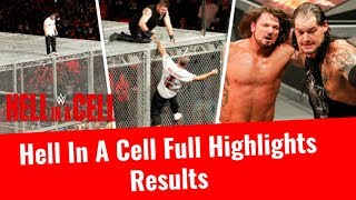 wwe hell in a cell 2017 highlights hd results 8 october 2017 shane mcmahon vs kevin owens wrestling