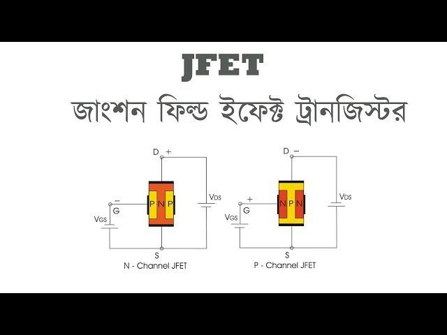 JFET - Junction Field Effect Transistor in Bangla | জাংশন ফিল্ড ইফেক্ট ট্রানজিস্টর | Voltage Lab