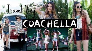 Travel Vlog: Coachella | My 3 Outfits!
