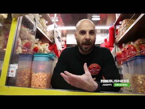 Kettle Corn NYC Fox Business Feature National Popcorn Day