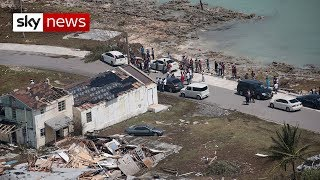 Hurricane Dorian: search for the dead begins in the Bahamas