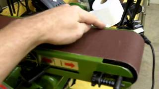 Part 3-3 Harbor Freight 4x36 Belt Sander Review And Modifications