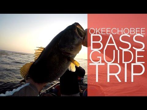 Okeechobee Fishing Trip - 7lb Bass!