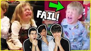 Kids Reacting To Bad Christmas Gifts!
