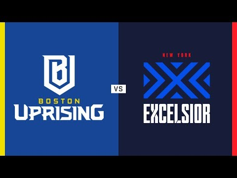 Boston Uprising vs New York Excelsior - Match of the Week | Overwatch League