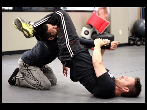 Arm Bar - Krav Maga Technique - Self Defense w/ AJ Draven of KMW