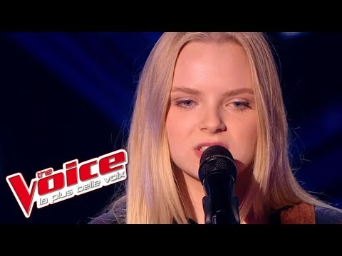 Simon Garfunkel - The Sound of Silence | Johanna Serrano | The Voice France 2015 | Blind Audition