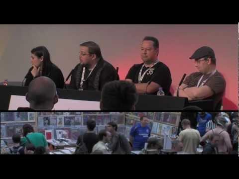 Kapow! Comic Convention London - Joe Quesada & Mark Millar interviews