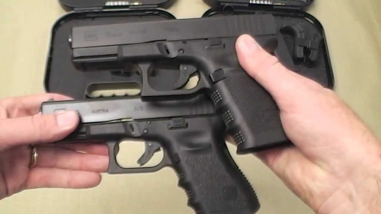 Glock Gen 3 Vs Gen 4 Pistol Comparison Differences Youtube