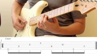 """Rodrigo Karashima - tutorial - """"Neon"""" (John Mayer) tab"""