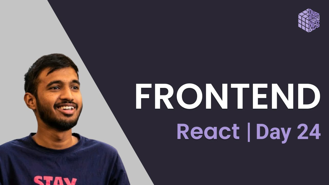Frontend | Day 24 | State Management with Context & Reducer