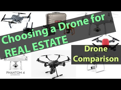 Choosing a Drone for Real Estate - 2017 Drone Comparison