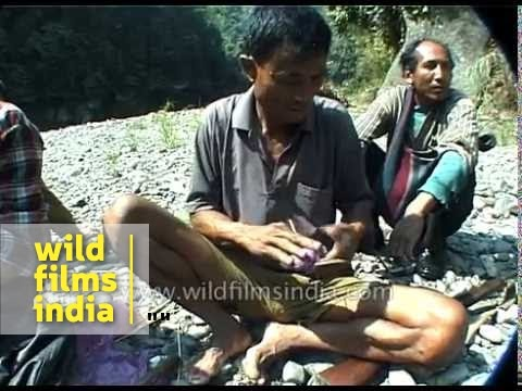 Preparing Dynamite For Illegal Fishing In North-east India