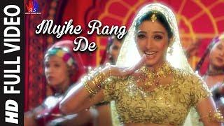Mujhe Rang De Full Video Song | By Asha Bhosle | A.R.Rahman | Thakshak
