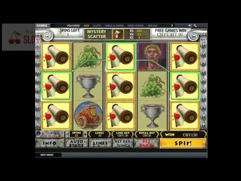 Rome & Glory slots for real cash