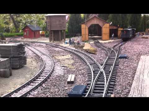 "2015 auf der ""Havellander Denver & Rio Grande Western"" LGB US Gartenbahn Jens Handro"