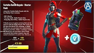 "NOUVEAU ""ACE SKIN"" STARTER PACK dans Fortnite Battle Royale! (Fortnite ""STARTER PACK 3"")"