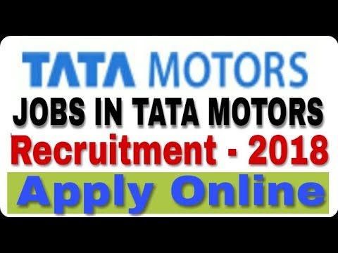 Jobs in Tata Motors II Private Job 2018 II How to Apply Online II Learn Technical