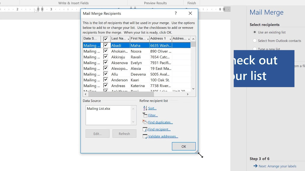 Holiday Tips: How to create labels in Microsoft Word