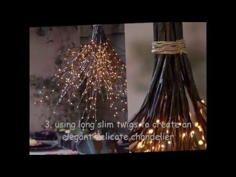 22 Beautiful simple DIY lighting fixtures ideas (FullHD)