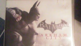 Batman Arkham City On The Playstation 3