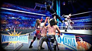 WWE Wrestlemania 33:The Hardy Boyz vs Gallows & Anderson vs The Bar vs Enzo & Cass Raw Ladder Match