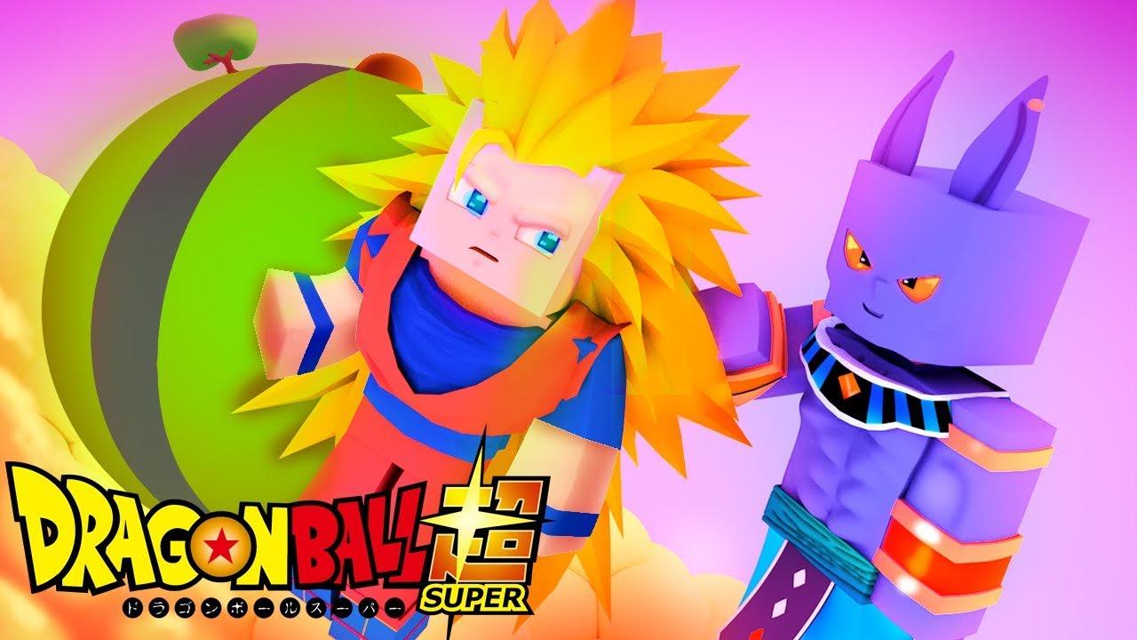 Minecraft Dragon Ball Super Goku Vs Bills Deus Super Sayajin