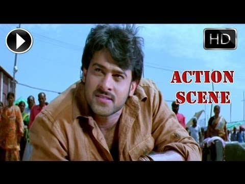 Ek Niranjan Movie | Prabhas Best  Action Scene And Dailouges