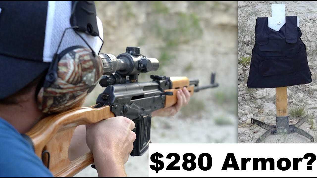 Testing $280 Body Armor - Is It Any Good?