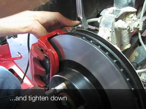 Subaru Forester Brakes Rotor And Pad Change Youtube