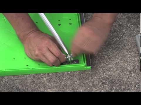 万能型スタンド水袋スタンドセット設置方法の紹介