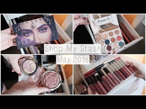 Shop My Stash | Monthly Makeup Box - May 2018