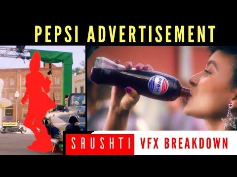 Pepsi Ad Making || Vfx Break Down || International Commercials || CGI || Srushti Vfx