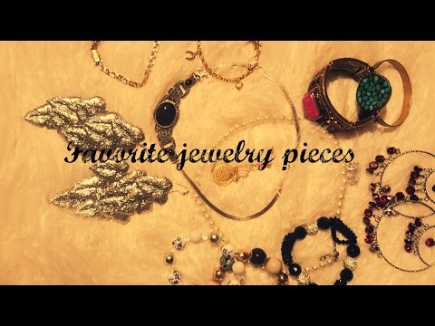 ❤❤ Favorite Jewelry Pieces ❤❤ ASMR   (whispering)..