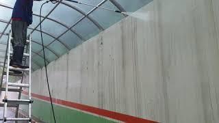 건물상가청소/렉산청소,고압세척,외벽청소,물청소,공장판넬…