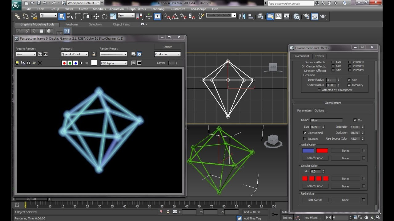 Drawing Lines In Crystal Reports : Ds max tutorial realistic diamond lattice an easy guide