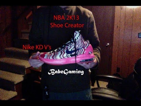 create kd shoes